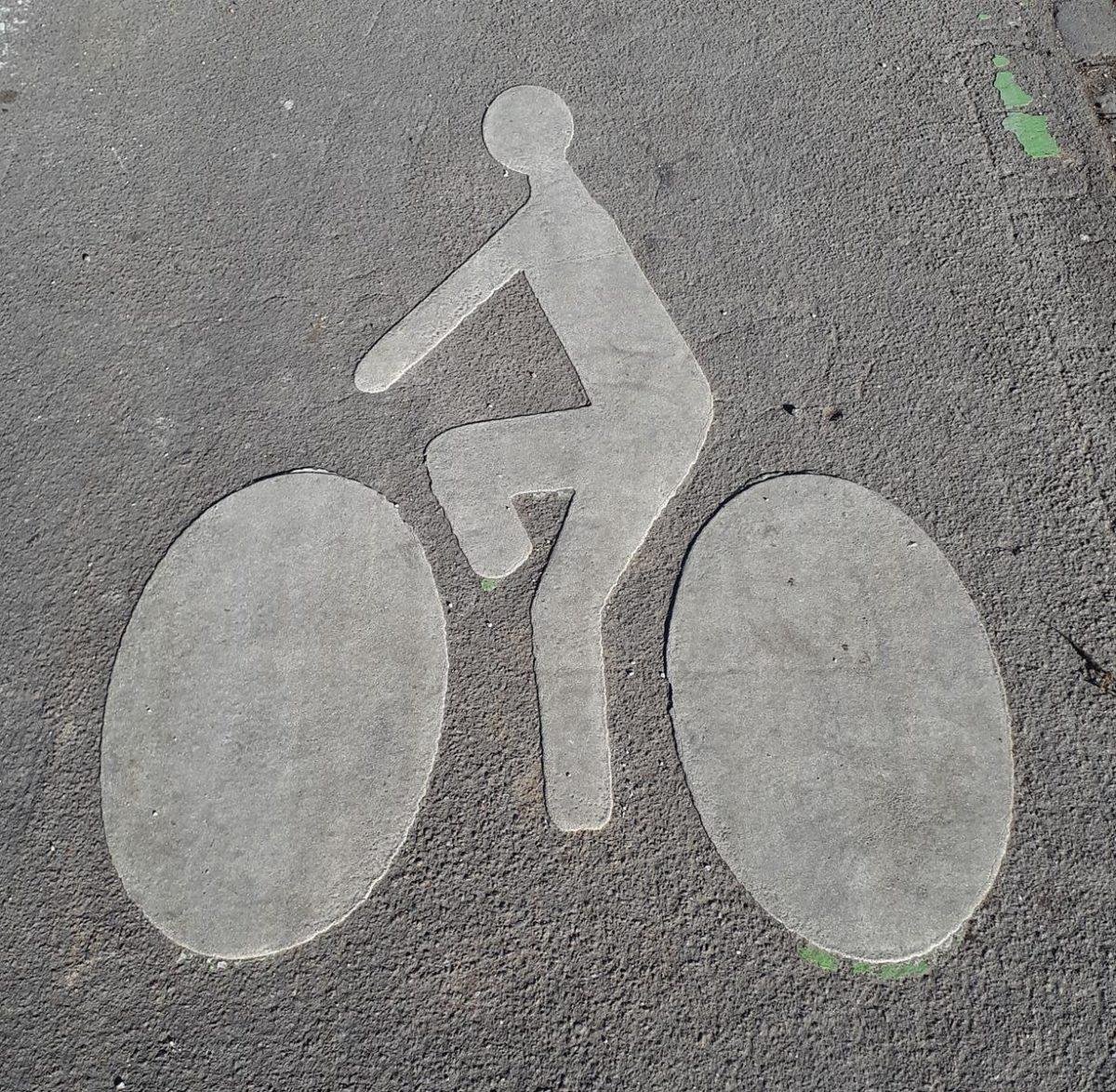 piste cyclable Allees du Parc
