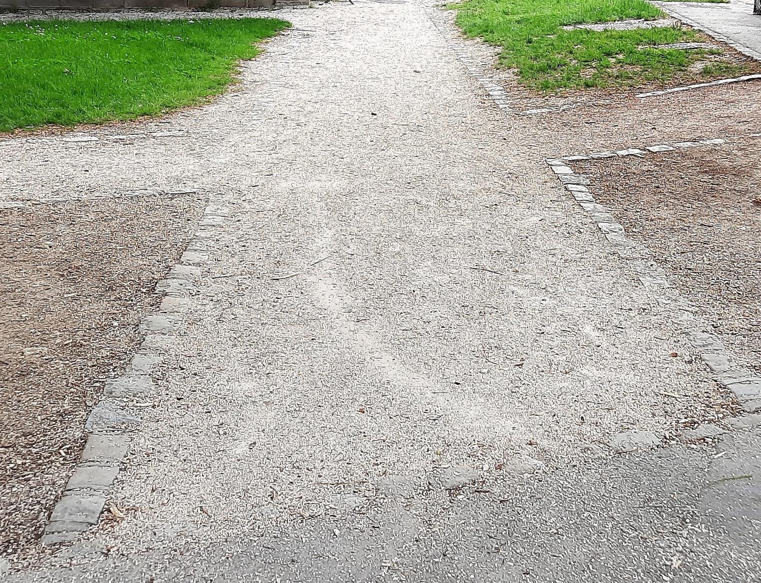 Allée piétonne améliorée carrefour Chevreul C. du Parc arret Divia (2)