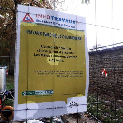 Colombiere Entretien mur 10 2019 (2)